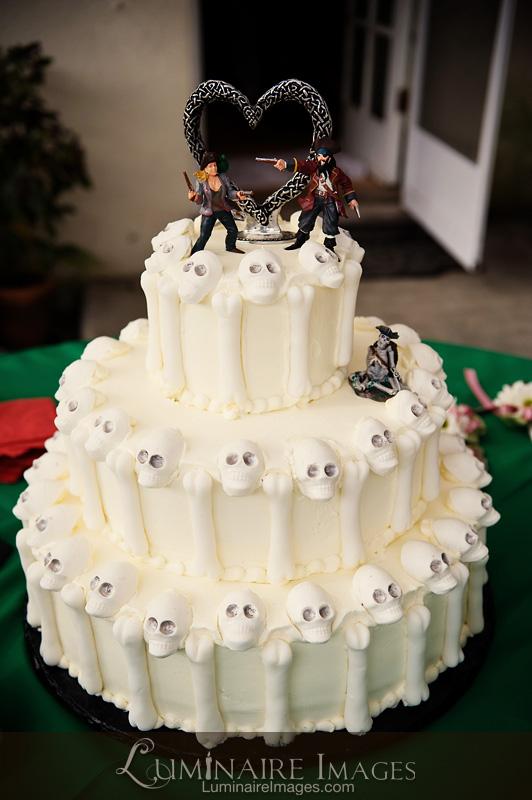 Halloween Wedding with Pirate Theme