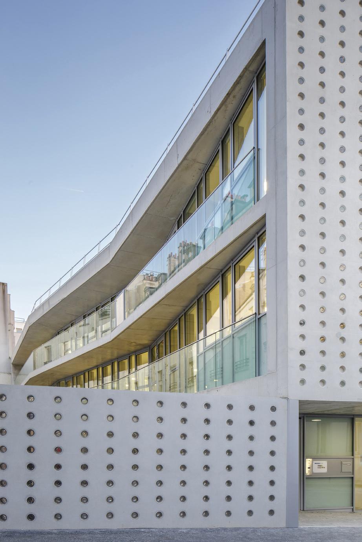 Crche collective Paris  DDA Architectes