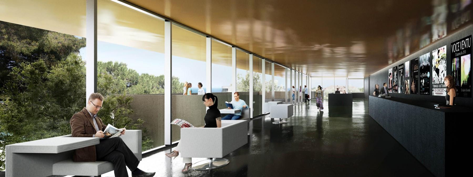 Centre culturel de Bastia  DDA Architectes
