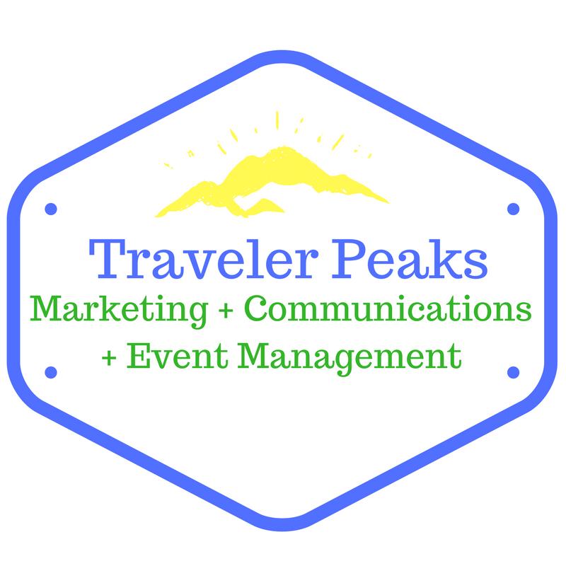 Traveler Peaks Marketing Logo