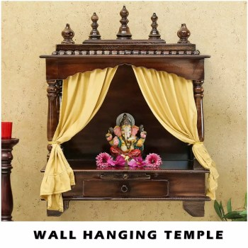 Wall Mounted Wooden Temples