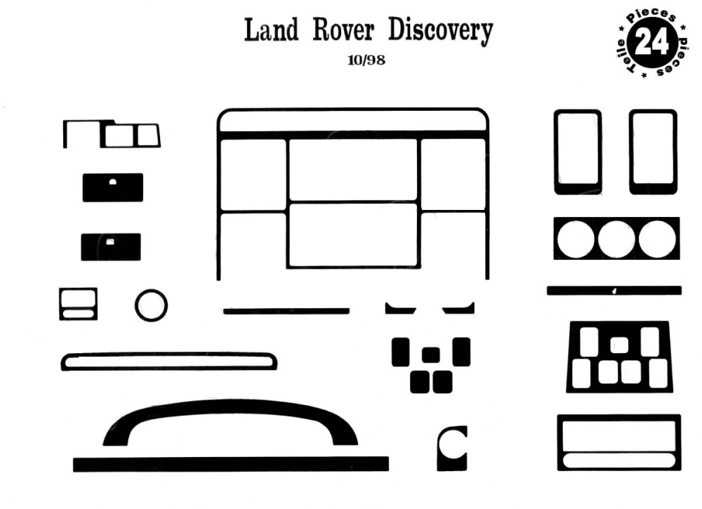 Land Rover Discovery II Накладки на панель купить по
