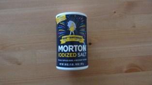 Dobozban a só.