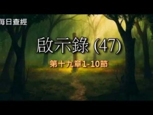 Read more about the article 啟示錄(47)19:1-10
