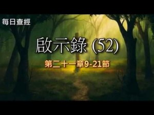 Read more about the article 啟示錄(52)21:9-21