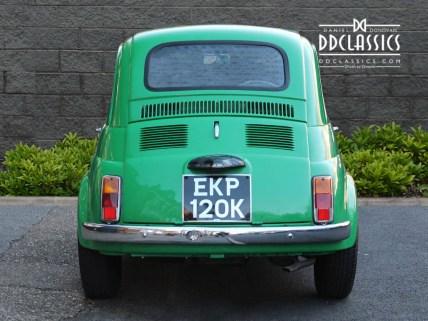 1972 Fiat 500 history
