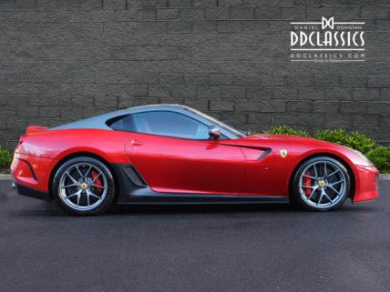Ferrari 599 GTO Mugello Rosso Red for sale