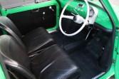 1972 Fiat 500 interior