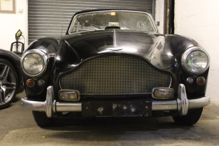 Aston Martin DB 2/4 Barn Find To Be Restored by DD Classics.