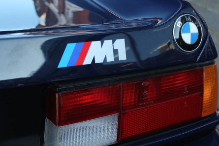 BMW M1 Badge IMG_2427