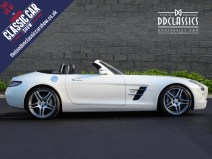 White Mercedes Bemz AMG SLS For Sale 2