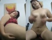 Gordinha muito gostosa pelada se masturbando
