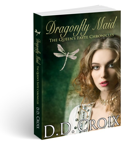 Dragonfly Maid, The Queen's Fayte Chronicles, by D.D. Croix