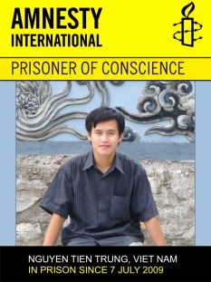 Nguyen Tien Trung - Amnesty International