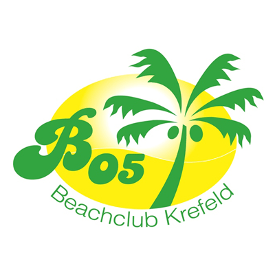Logo des Beachclubs Krefelds