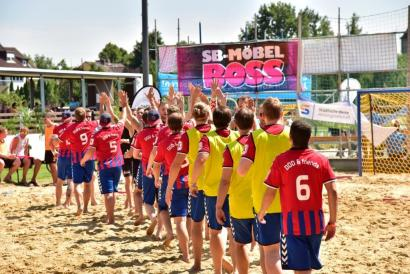 Marius Kamps Krefeld Beachhandball