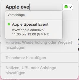 AppleEvent_Eintragen