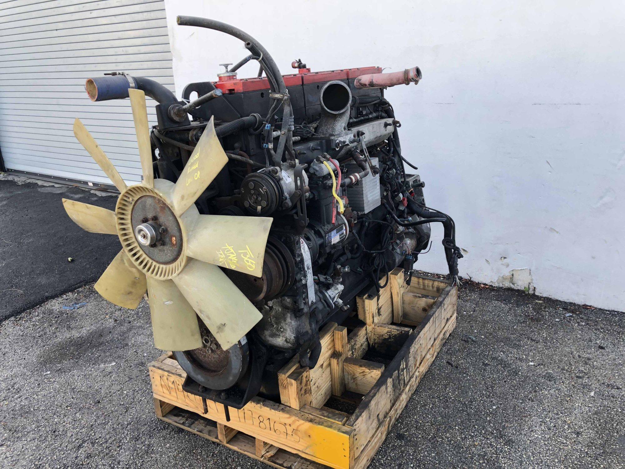 hight resolution of used cummins n14 celect plus engine