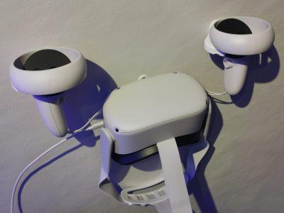 Veggfeste til Oculus Quest (1&2) – Headset og kontroller