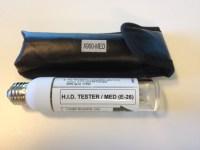 HID Light Fixture Tester  Medium Base   DDE, Inc.