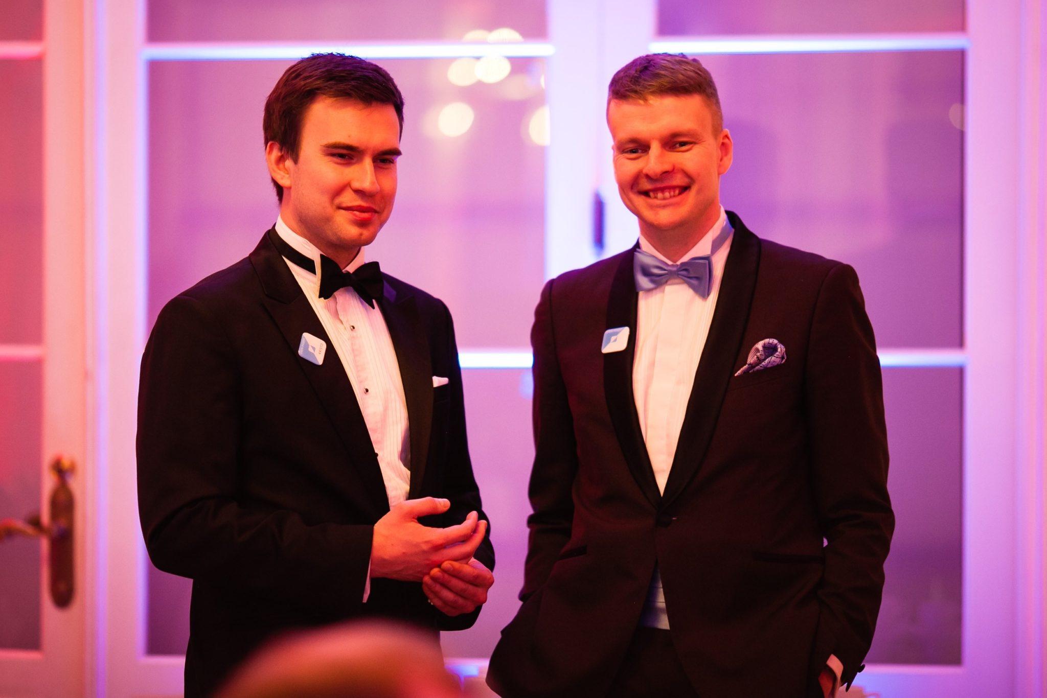 Chemi-Pharm AS tegevjuht Kristo Timberg koos õhtujuht Andres Tormiga