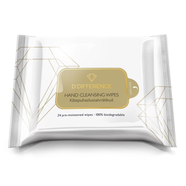 DDIFFERENCE Hand Cleansing Wipes