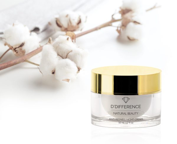 DDIFFERENCE Anti Redness Night Cream 50 ml+puuvill