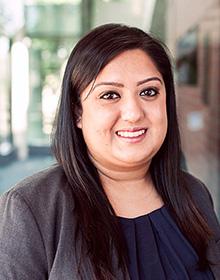 Kiran, legal assistant at Dhanu Dhaliwal Law Group
