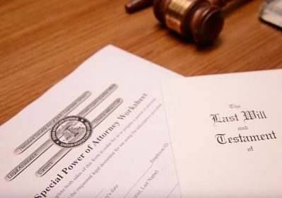 a last will and testament and special power of attorney worksheet
