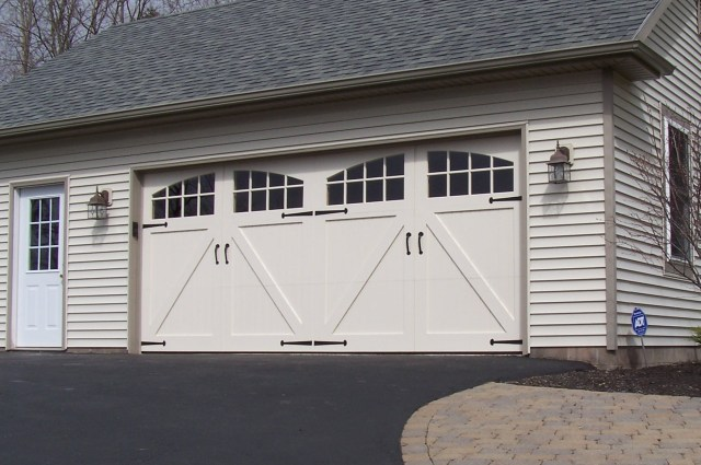 Wood Carriage House Garage Doors - Dan's Garage Door Blog