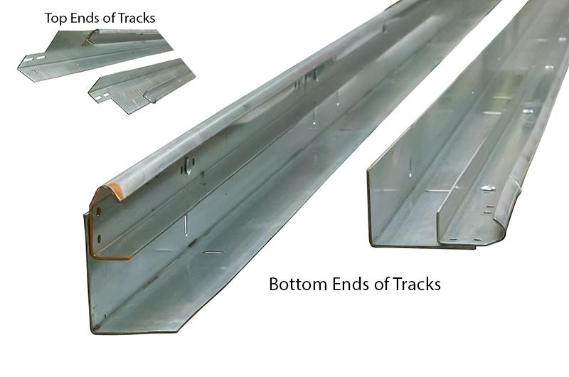 Garage Door Tracks  Track Hardware