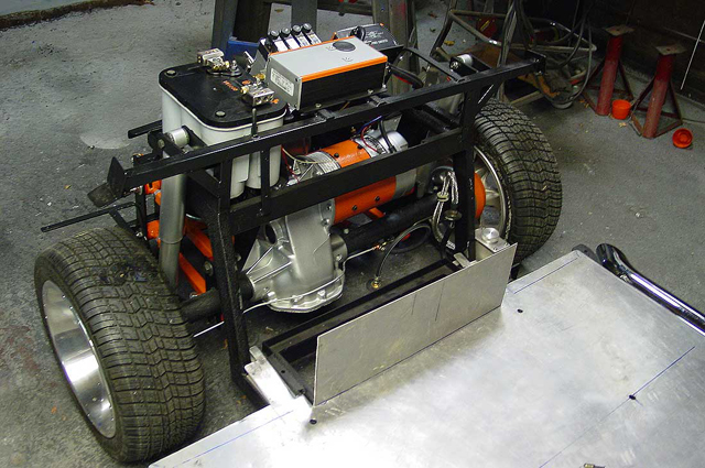 Golf Cart Gas Motor Conversion