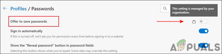 Как включить или отключить сохранение паролей в Microsoft Edge в Windows 10?