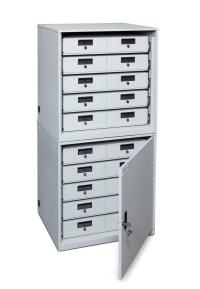 Secure Taser Cabinet - Secure Weapons Storage - DDP