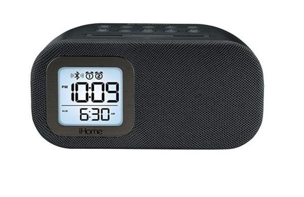 iHome alarm clock - front
