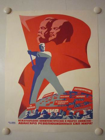 ussr political poster danish