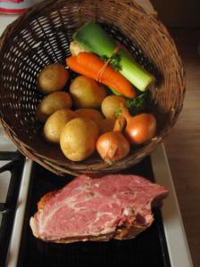 DDR Kartoffelsuppe mit Bockwurst Rezept Würstchen