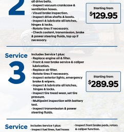 maintenance schedule service pricing  [ 1920 x 4727 Pixel ]