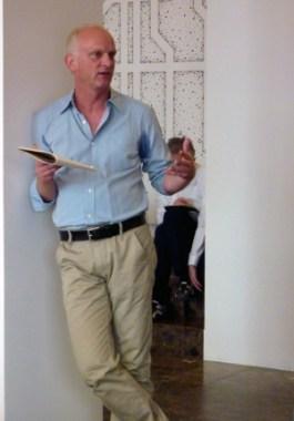 <p>Christoph Grafe, directeur van het Vai, Vlaams Architectuur Instituut</p>