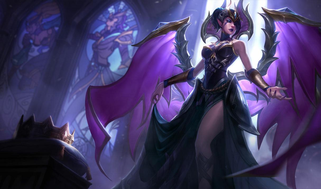 魔甘娜 - 英雄 《英雄聯盟 LoL》官方網站