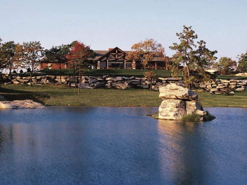 Photo of the Eagle Rock Golf Clubhouse