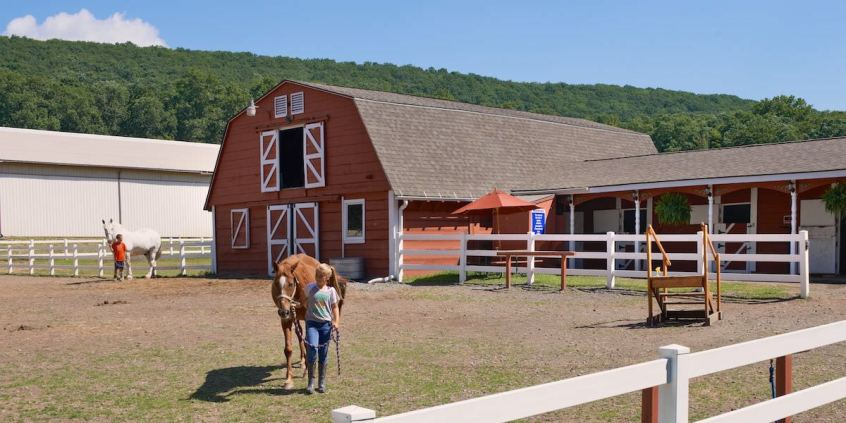 Photo of the Eagle Rock Equestrian Center