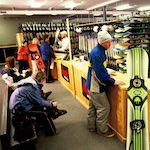 Photo of the Eagle Rock ski shop