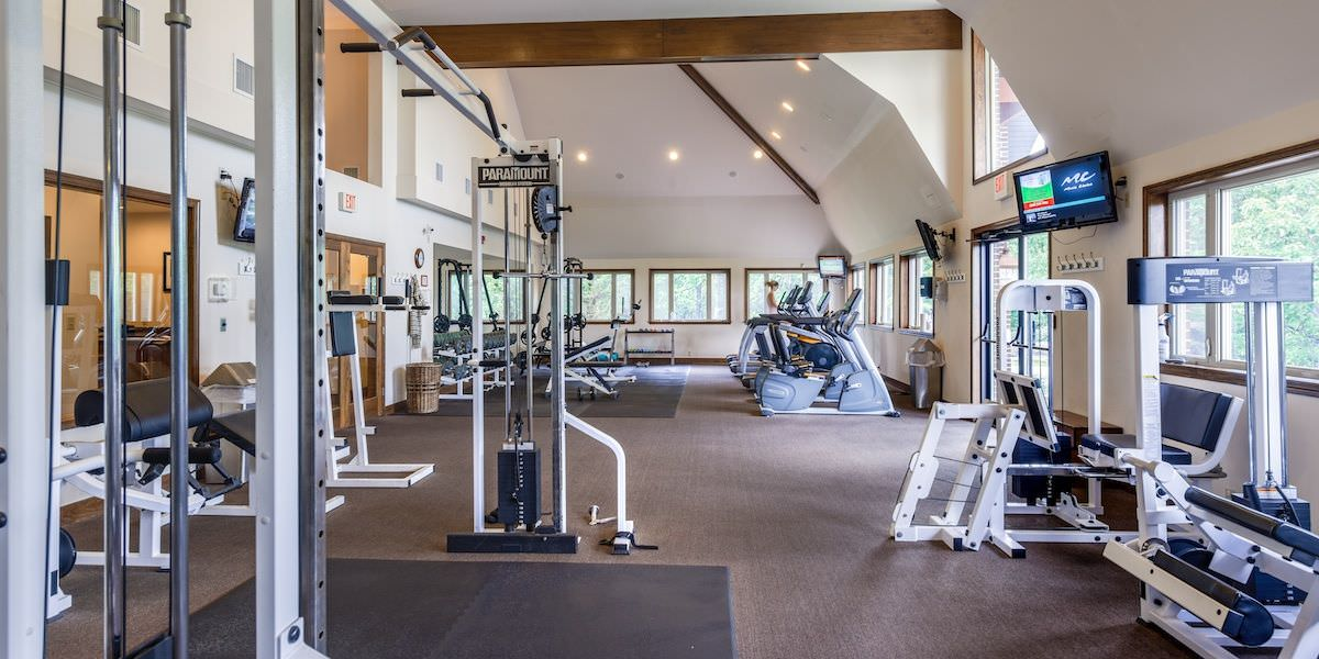 Photo of the Eagle Rock Fitness Center