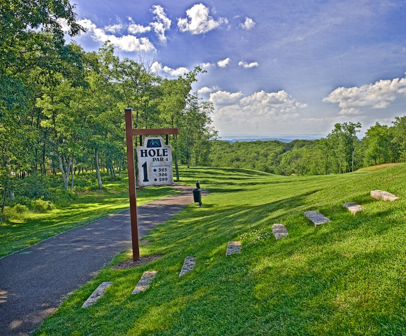 Photo of the Eagle Rock Golf Course
