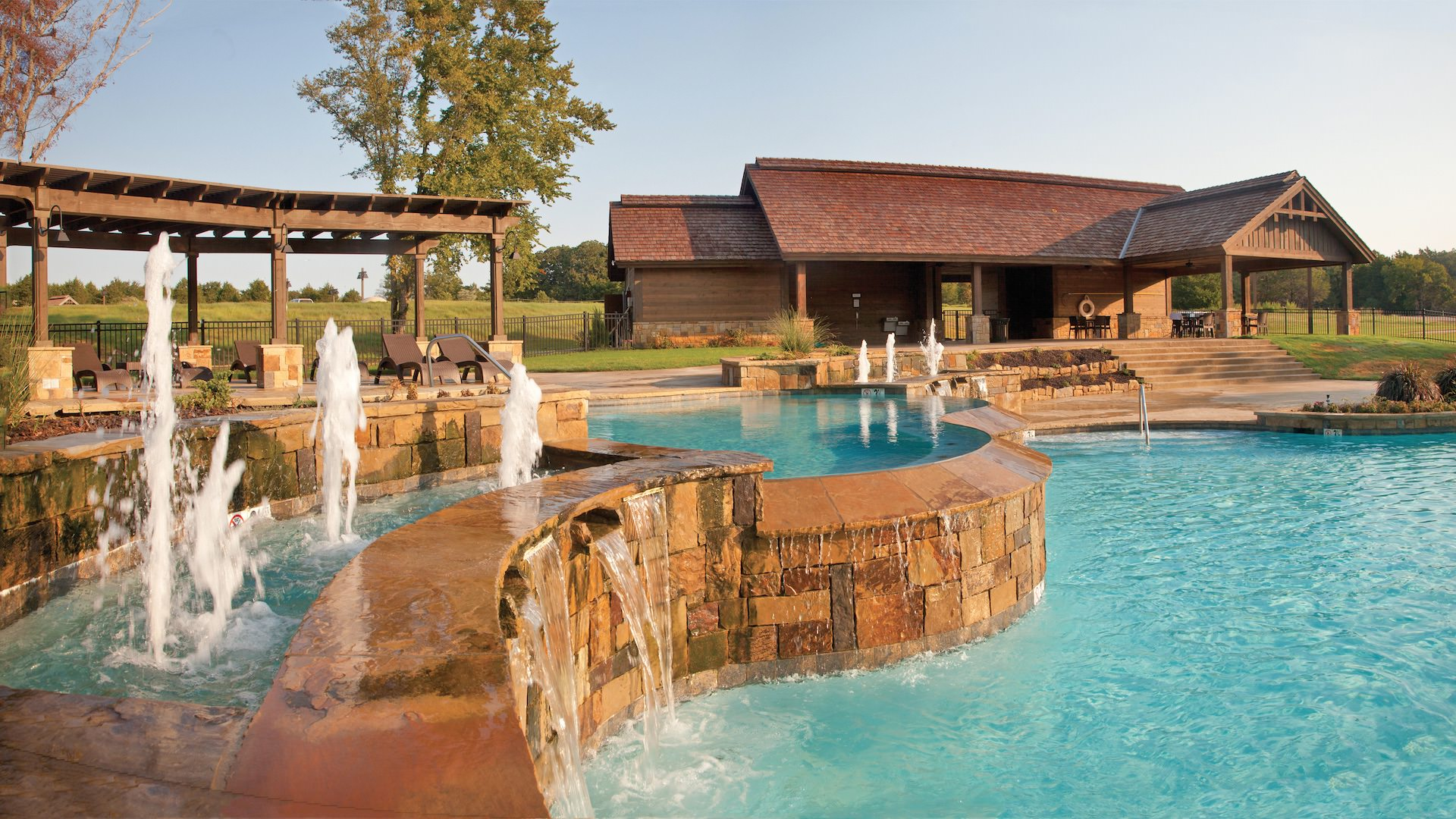 photo of the club pool
