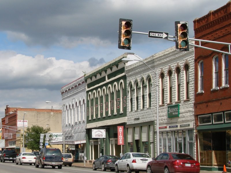 Photo of downtown Cleburne