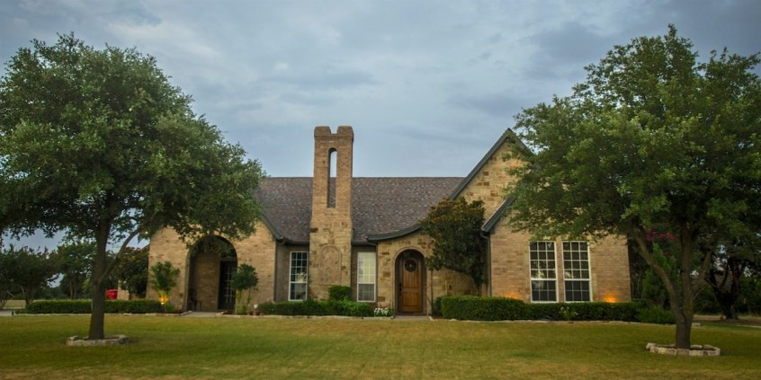 Photo of a custom home in The Retreat Country Club community