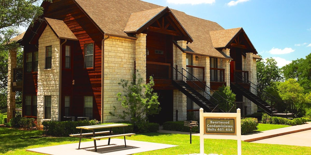 Photo of the Heartwood Condominiums
