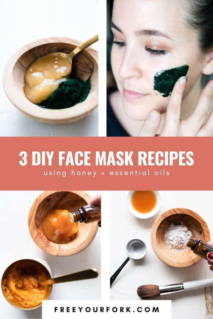 3 Diy Face Masks Free Your Fork